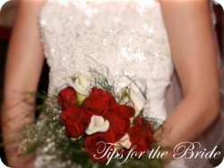 Wedding information for the bride, bridesmaids, dress