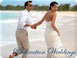 Destination Wedding travel and free sandals wedding