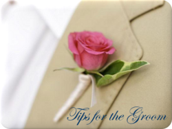 wedding information for the groom, groomsmen, family