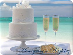 register your honeymoon online and receive free promotional items